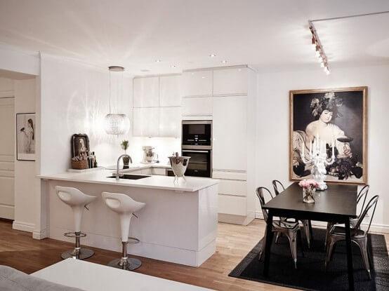 cozinhas americanas pequenas
