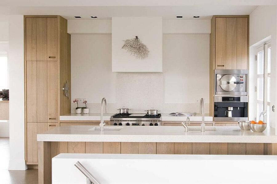 Cozinha americana pequena ideias fotos e dicas for Cuisine moderne en bois 2014