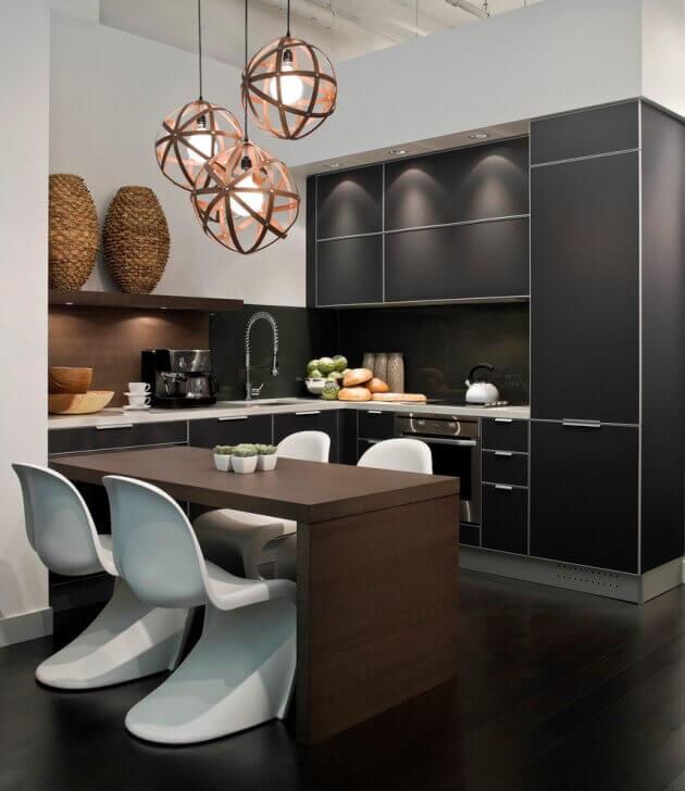 Cozinha americana pequena ideias fotos e dicas for Modern kitchen design for condo