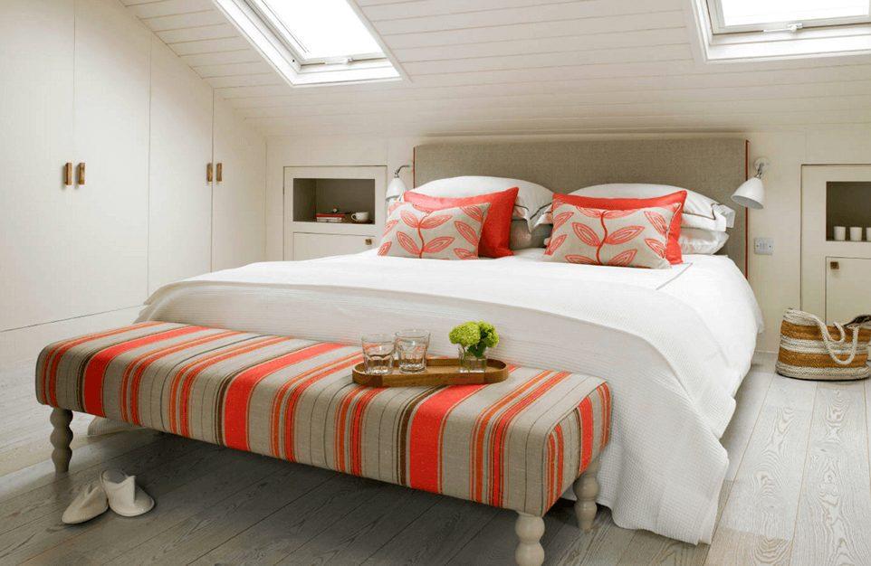 quartos de casal projetados