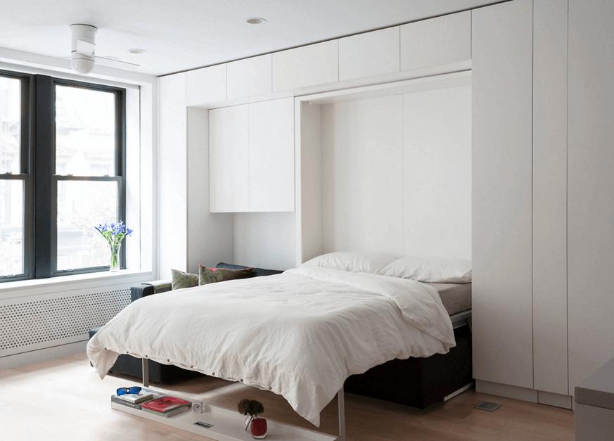 quartos planejados com cama retrátil