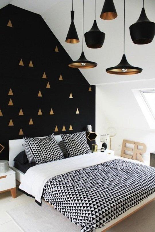 quartos planejados com luminária