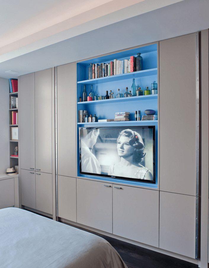 quartos planejados com tv