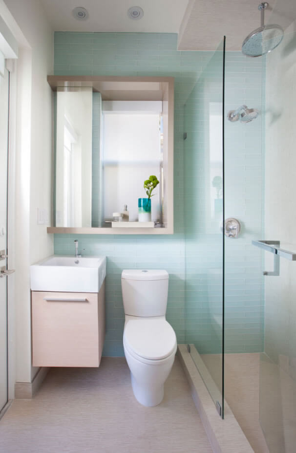 decor de banheiros pequenos
