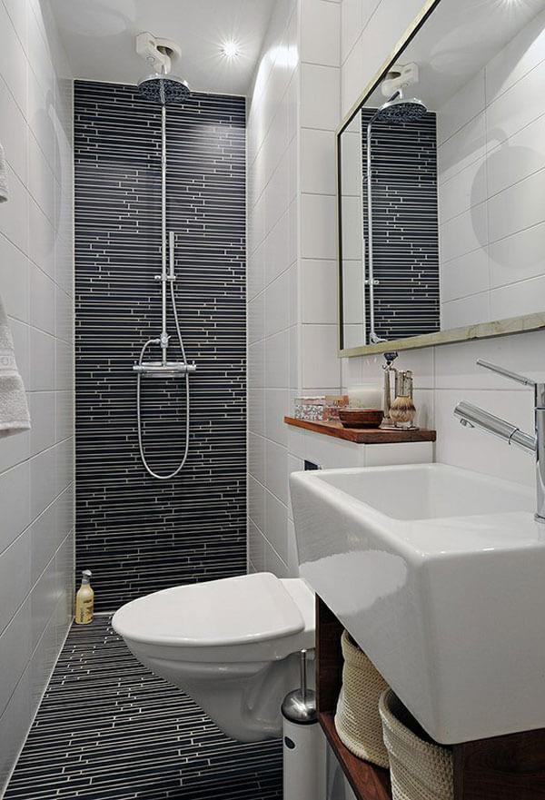 ideias de decoração para banheiro pequeno