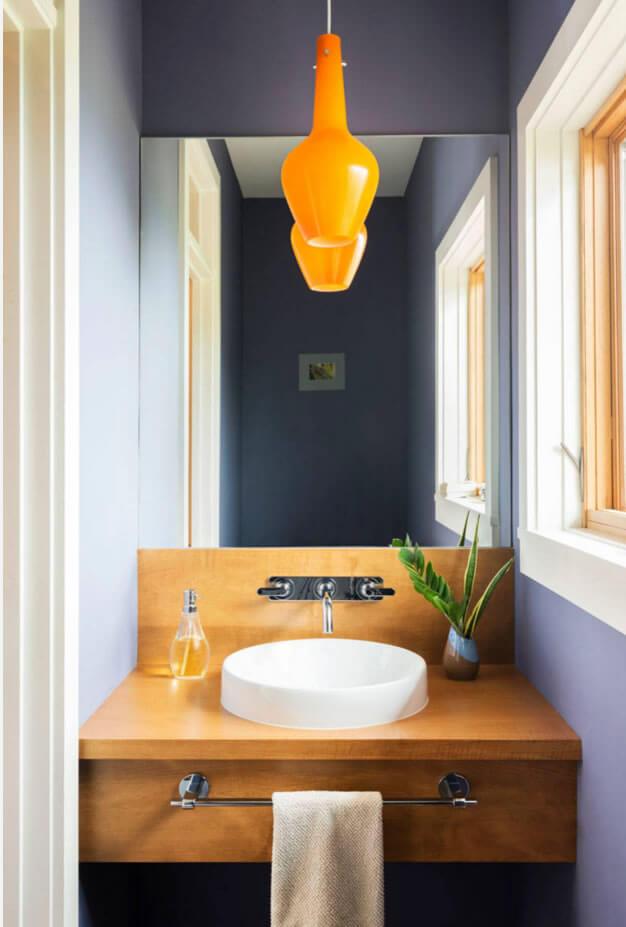 lavabo pequeno decoração