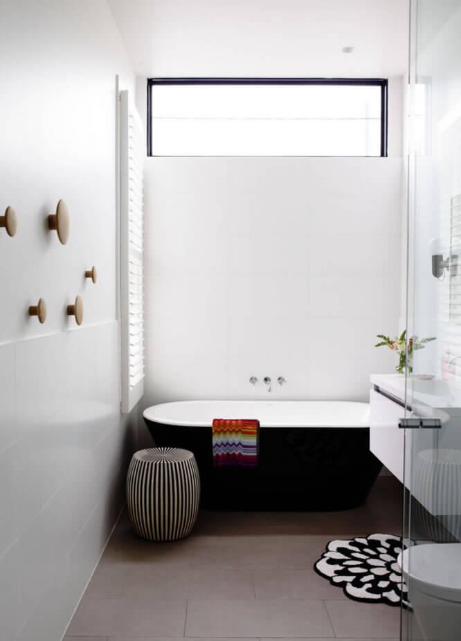 Ideias para Decoração de Banheiro Pequeno  Arquidicas -> Fotos De Banheiro Com Banheira Pequeno