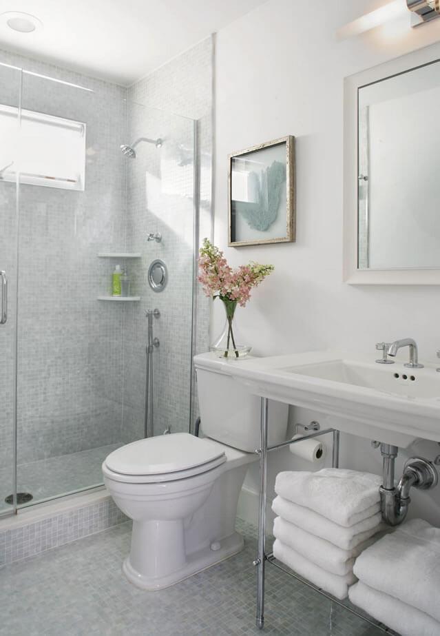 banheiros pequenos decoração