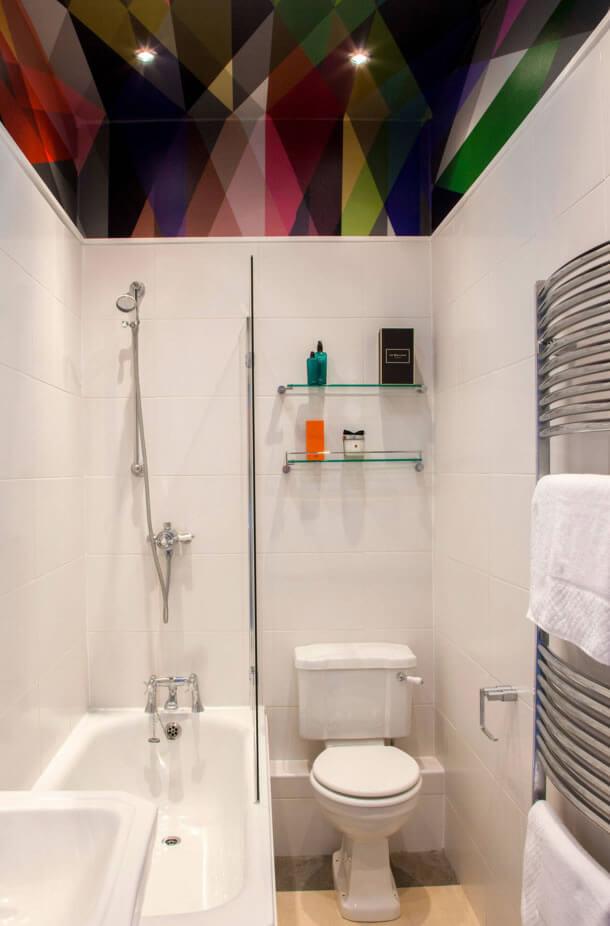 Ideias para Decoração de Banheiro Pequeno  Arquidicas -> Decoracao De Gesso Para Banheiro Pequeno