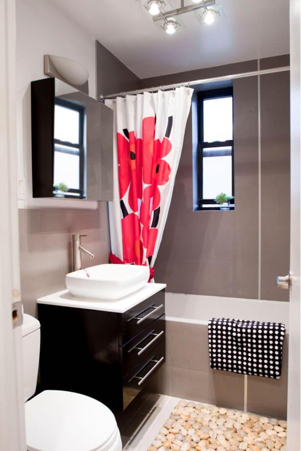 decoração de banheiros pequenos com banheira