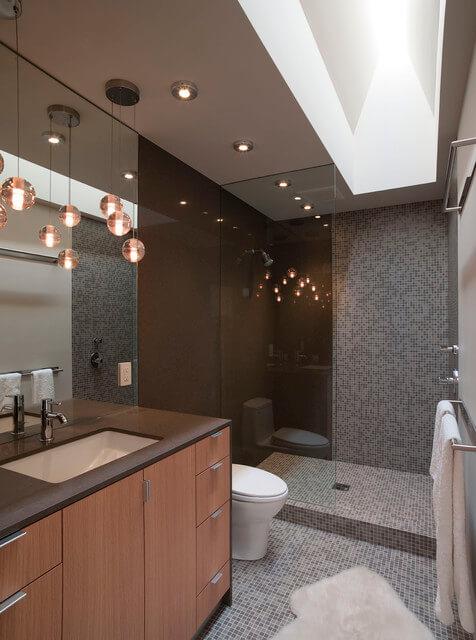 decoração de banheiros pequenos com pastilha