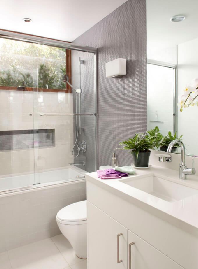 decoração simples banheiro pequeno