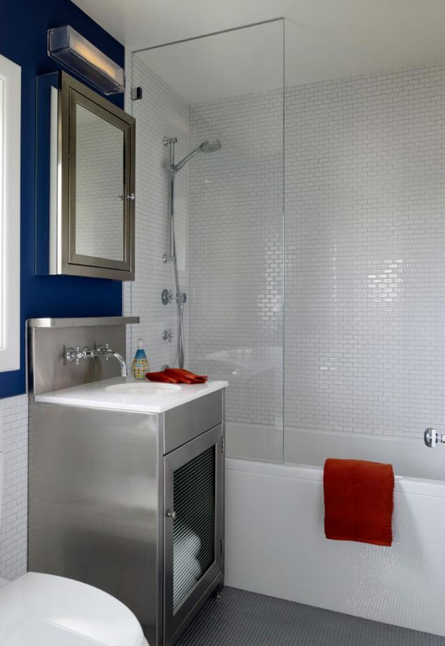 decoração simples banheiros pequenos