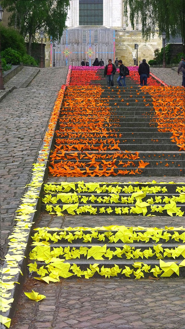 Escada Origami