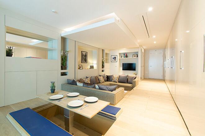 apartamentos pequenos mobiliados
