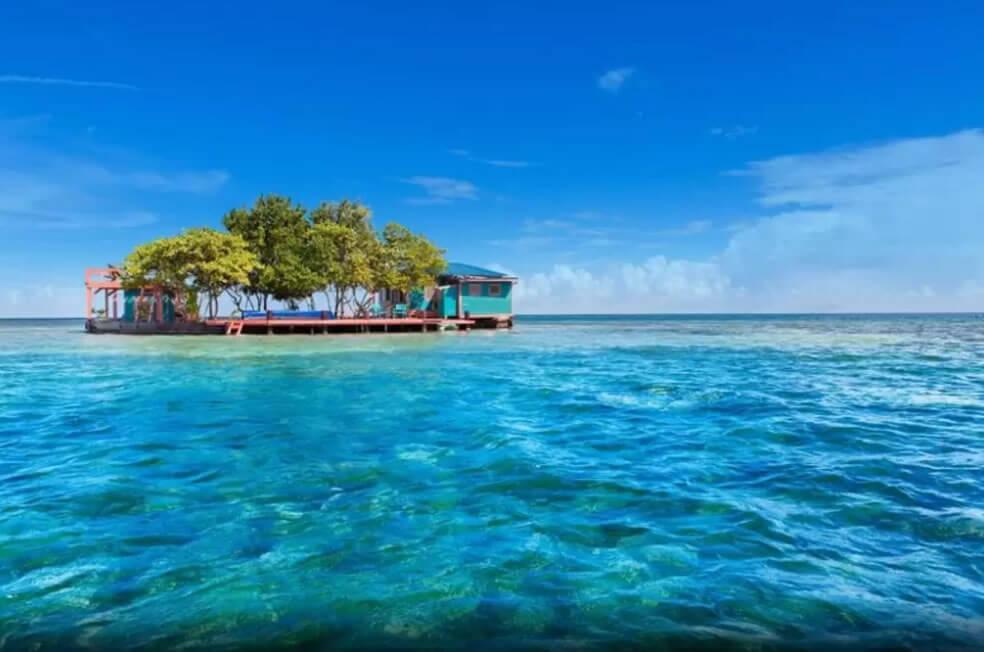 ilha em Belize