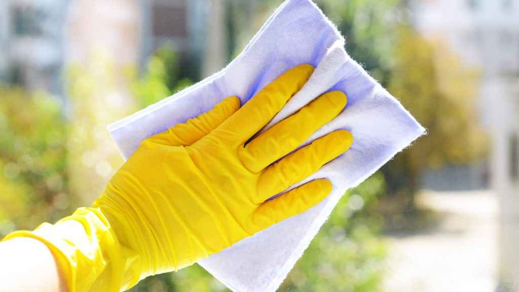 limpar vidros e janelas