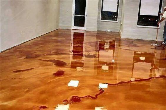 piso de resina autonivelante