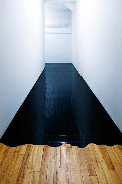 piso de resina sobre madeira