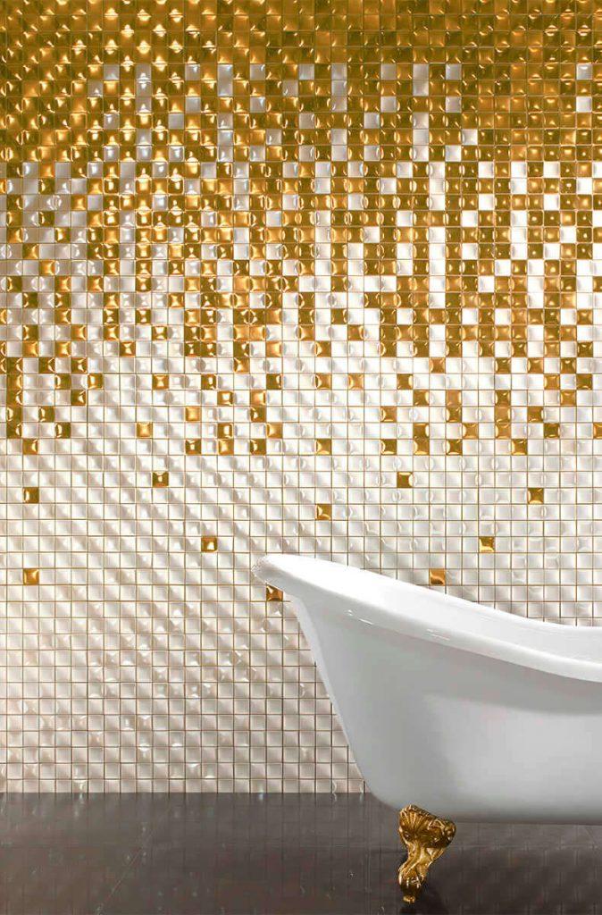 banheiro moderno alto relevo