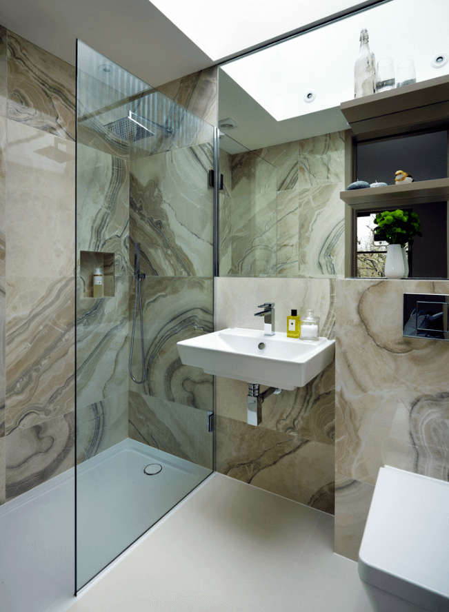 Banheiros Modernos 2017 – Conheça as Tendências!  Arquidicas -> Banheiro Medio Simples