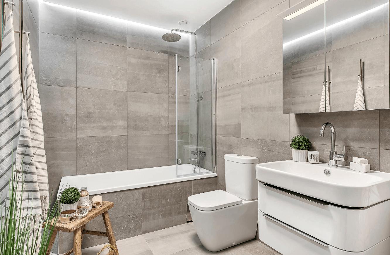 banheiros modernos 2017 conhe a as tend ncias arquidicas. Black Bedroom Furniture Sets. Home Design Ideas