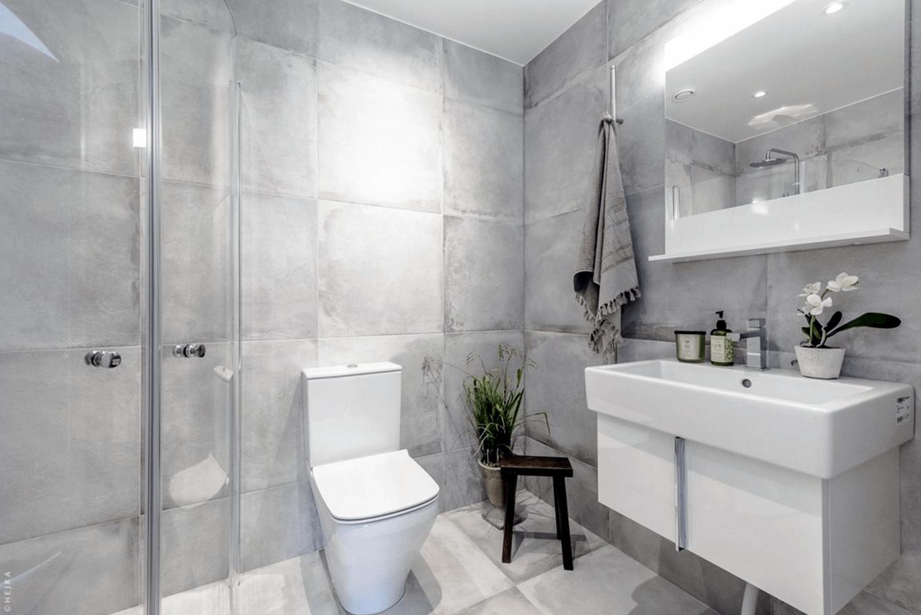 Banheiros Modernos 2017 – Conheça as Tendências!  Arquidicas -> Banheiro Medio Com Banheira