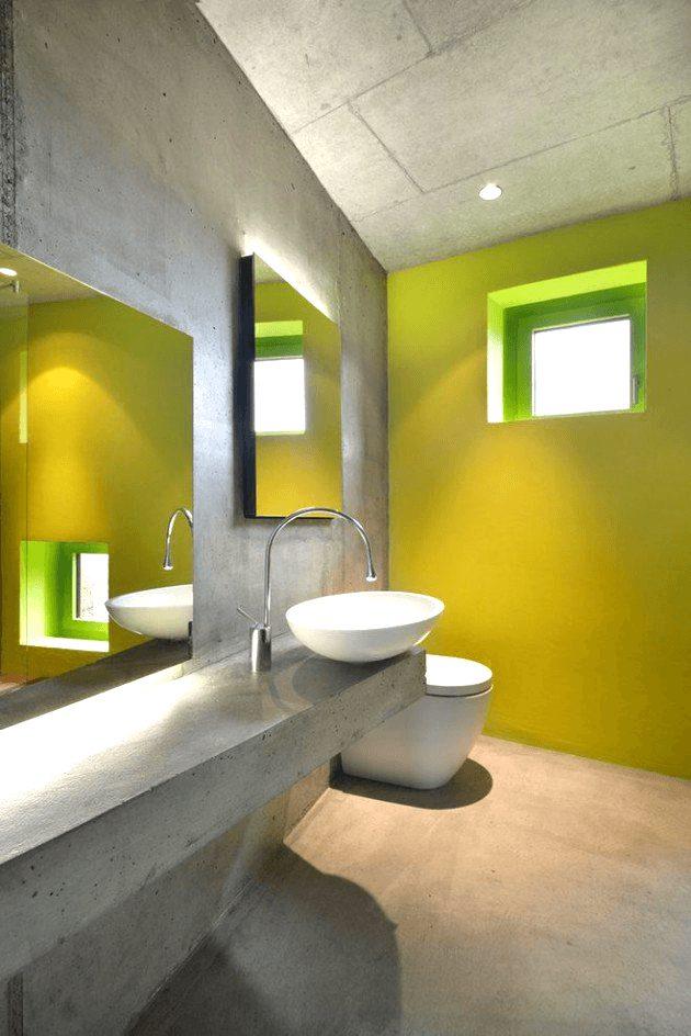 banheiros sociais modernos