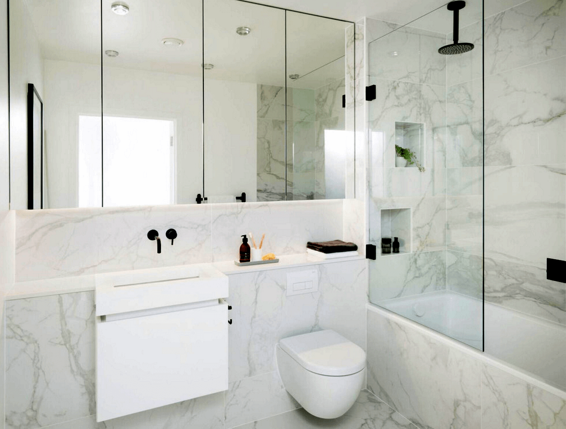 Banheiros modernos 2017 conhe a as tend ncias arquidicas - Fotos de recibidores modernos ...