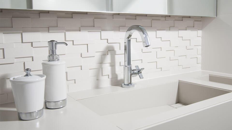 Banheiros Modernos 2017 – Conheça as Tendências!  Arquidicas -> Banheiros Decorados Atuais