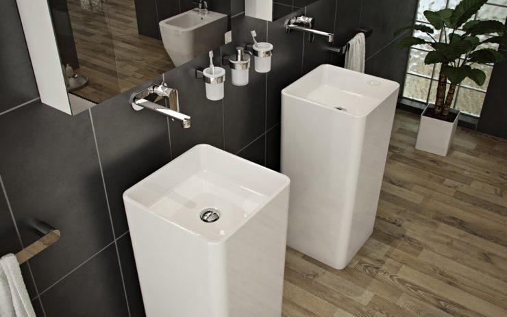 pias para banheiros modernos