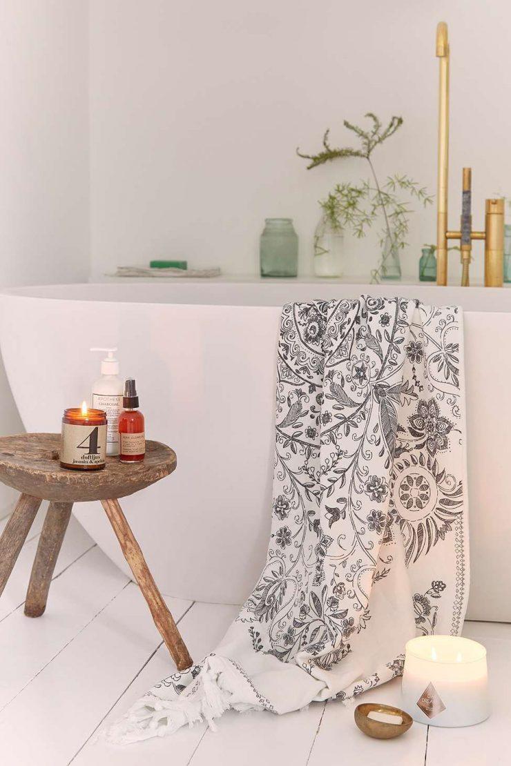 acabamento de banheiros modernos