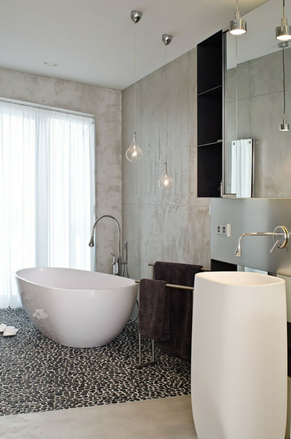 pisos para banheiros modernos