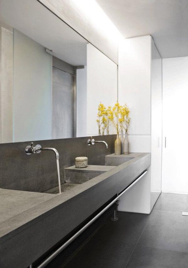 balcao para banheiros modernos