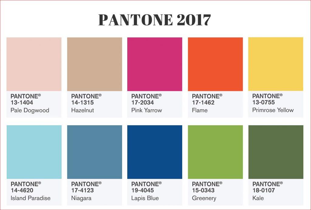cores de paredes 2017