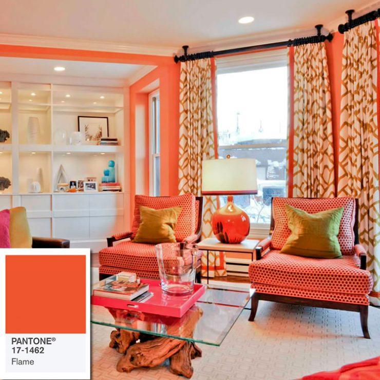 cores de paredes laranjas