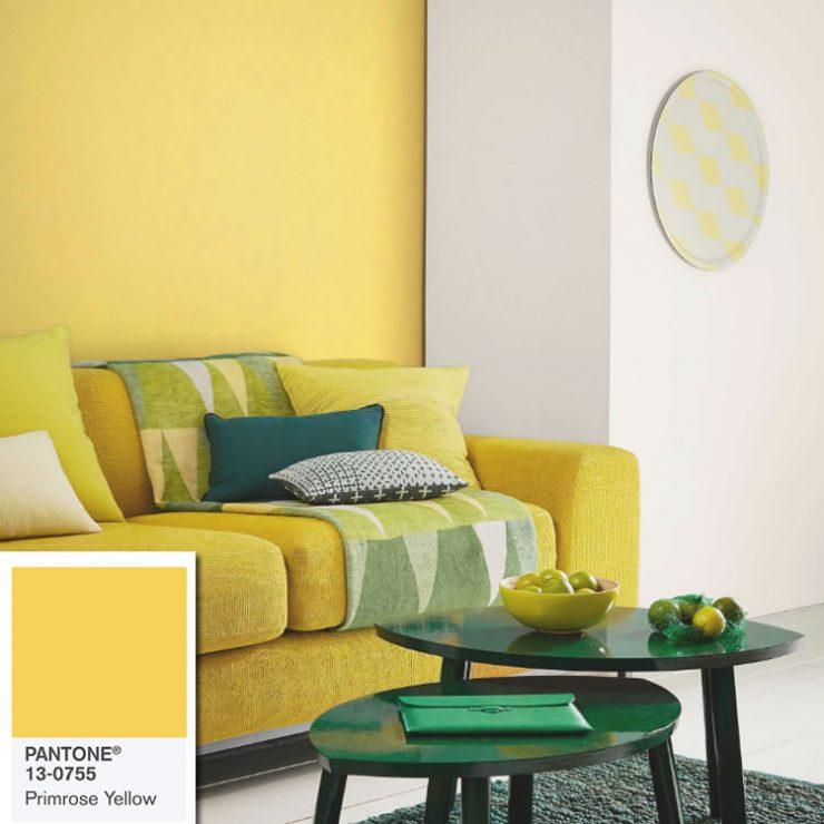 cores de paredes amarelas