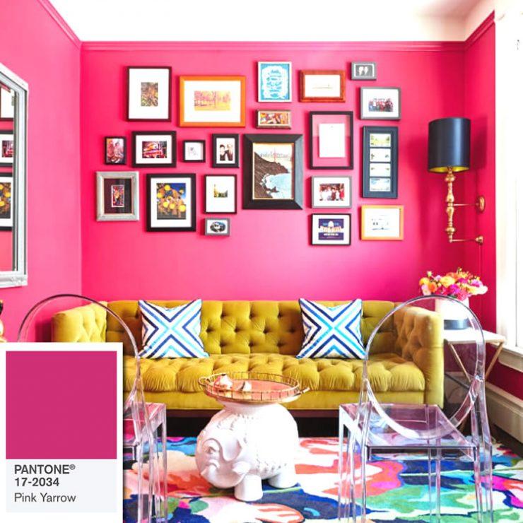 cores de paredes vibrantes