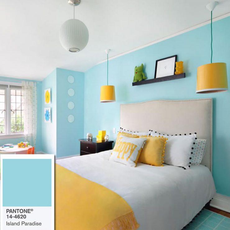 cores de paredes alegres