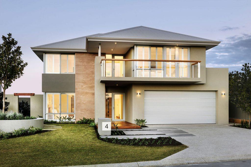 casa com cores de parede classica