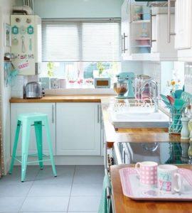 decoração simples de cozinha
