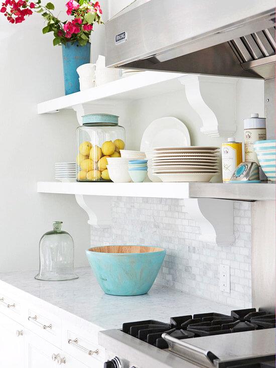 objetos de decoração simples cozinha