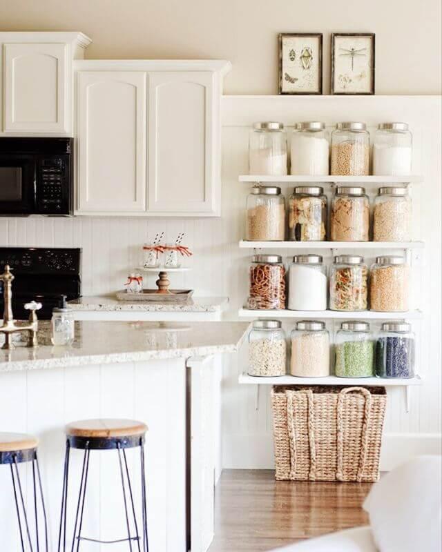 decoração prática para cozinha
