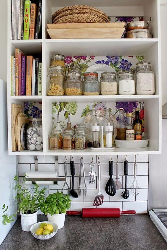 decor simples e barata cozinha