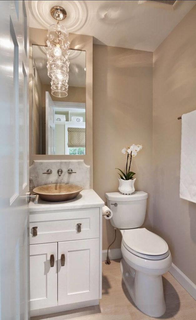 lavabos pequenos planejados