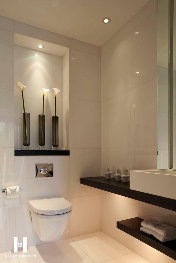 banheiro de luxo pequeno