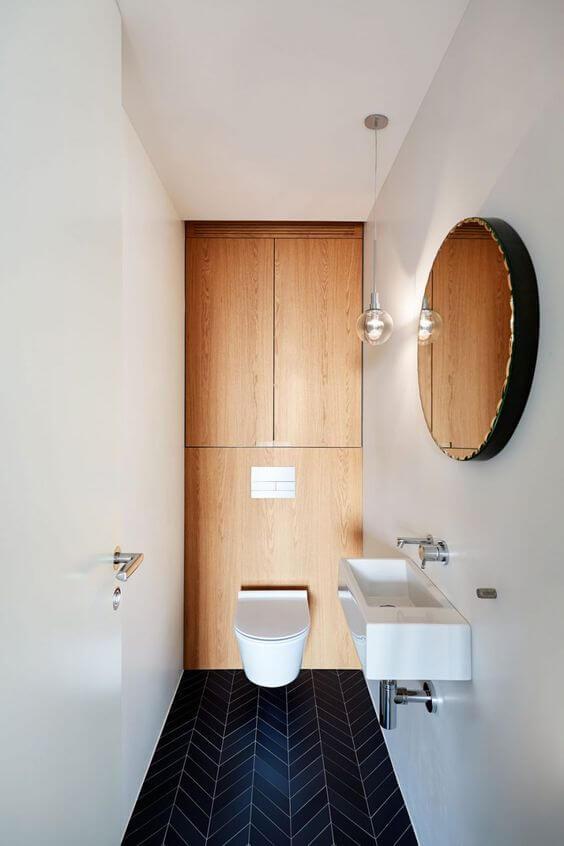 Dicas para banheiros pequenos planejados arquidicas for Lavabos pequenos medidas