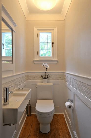 lavabo pequeno planejado