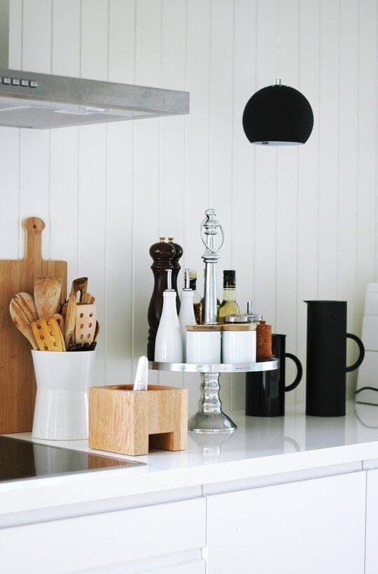 cozinha decoradas com acessórios